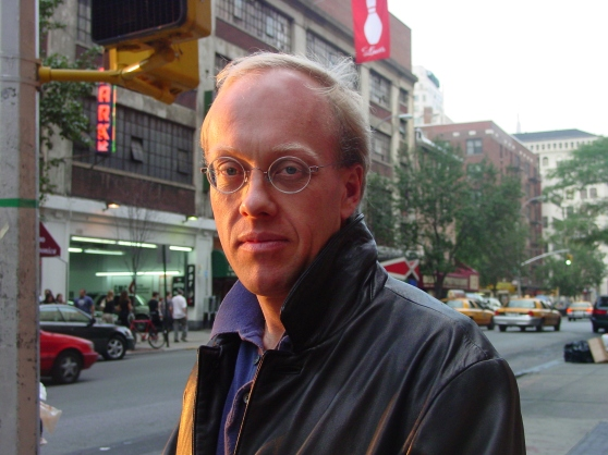 Journalist, writer, and outspoken public intellectual Chris Hedges