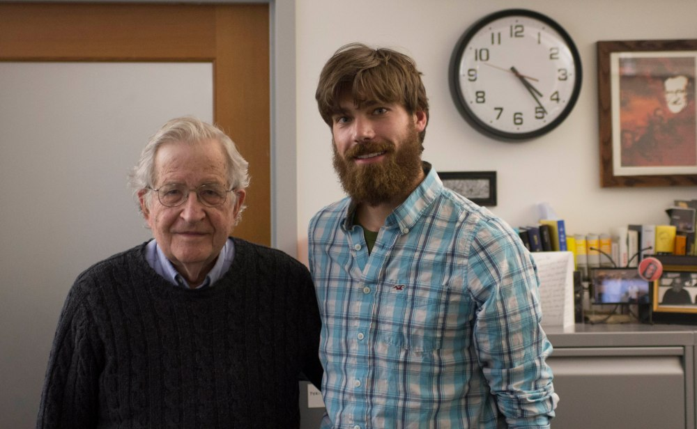 Political Activist and MIT Professor Noam Chomsky
