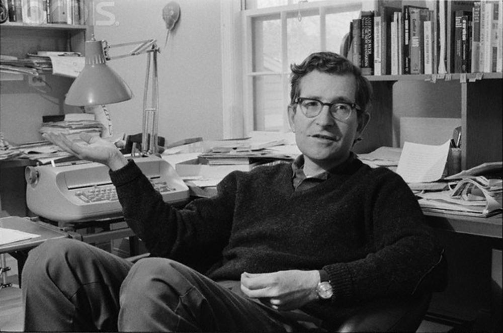 Risultati immagini per Chomsky